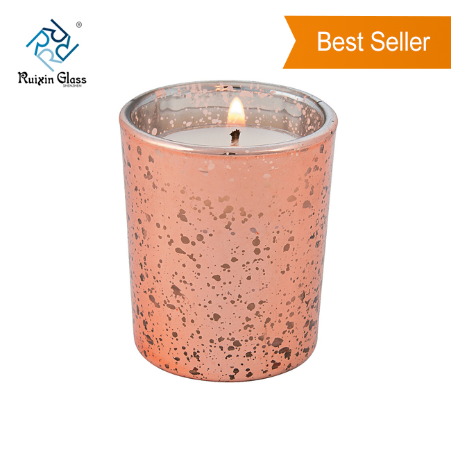 CD005 New Hot High Quality Large Capacity High White Glass Decorative Candle Holder For Banquets