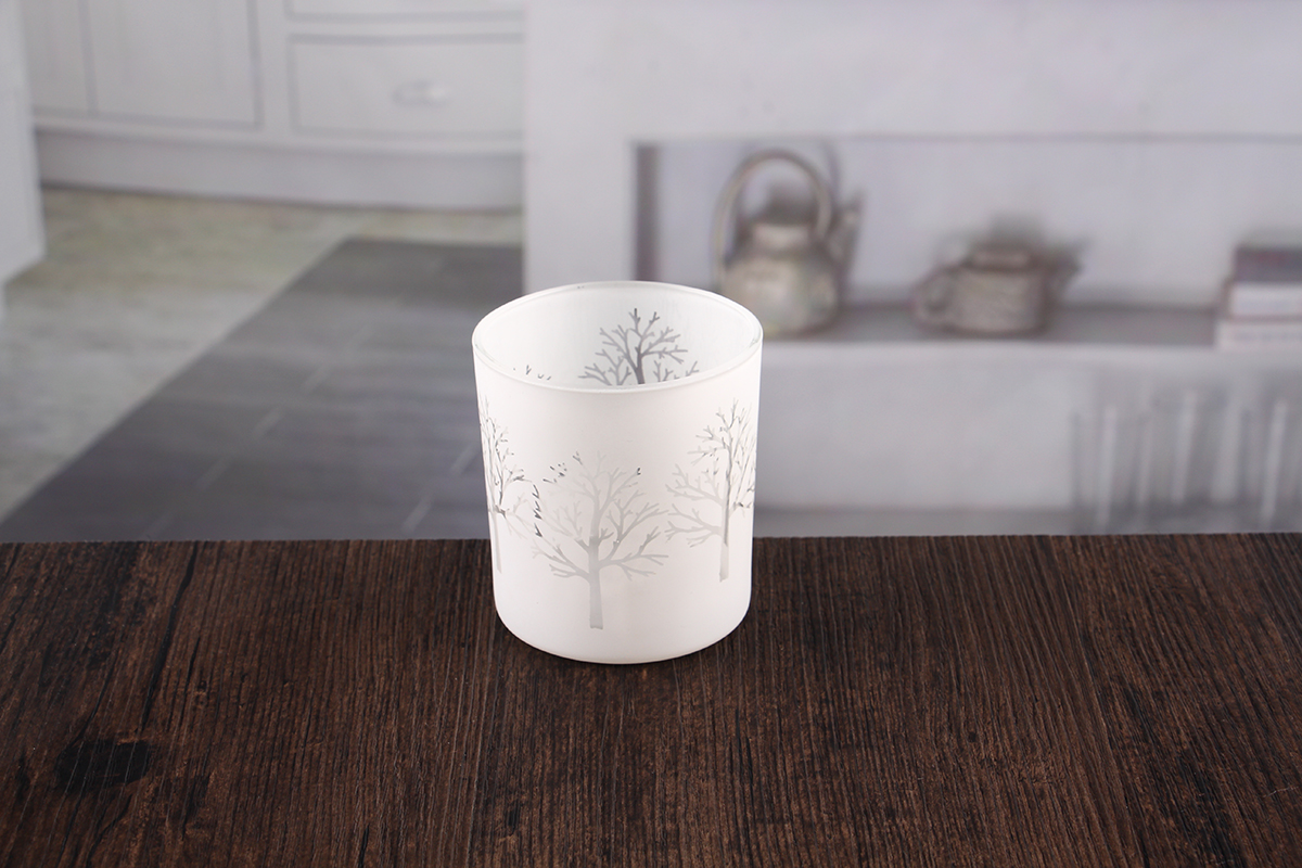 Round votive candle holders