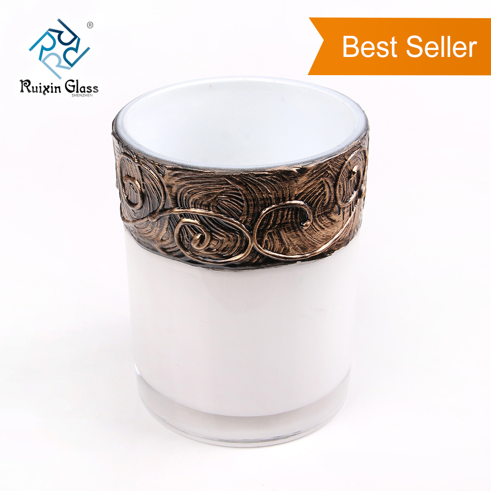 CD006 Newest FDA Certificate Soda-lime Glass Decorating Candle Holder Wholesale In China
