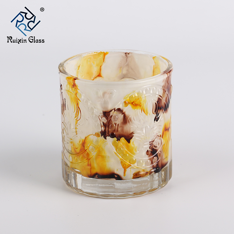 China Candle Holder Manufacturer Colored Home Decor Marble