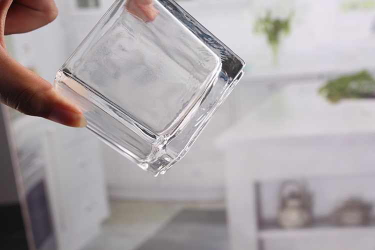 Clear glass tealight holders