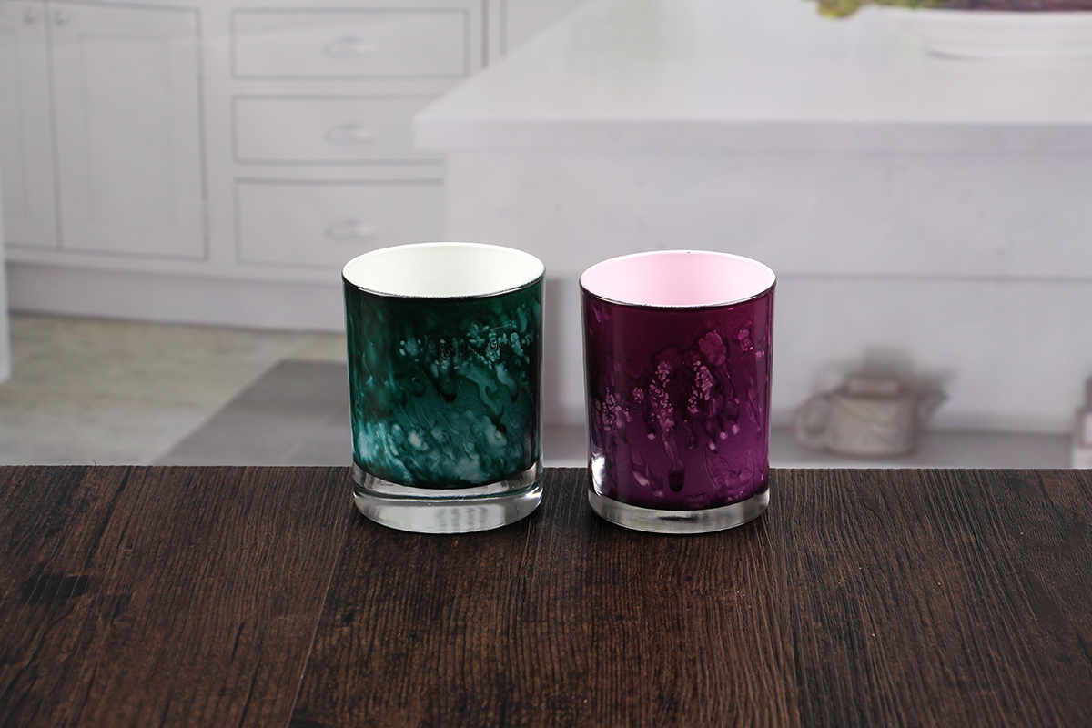 Low candle holders