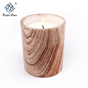 CD011 Hot Selling Goedkope Prijs Aangepaste Clear Wood Candle Holder Fabrikant uit China