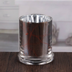 China 4 inch silver candle holders bulk candle holder sale factory