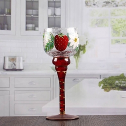 8 inch tall glass candle holders bulk goblet long stem glass candle holders wholesale