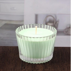 China Big candles holder glass bowl candle holder for sale factory