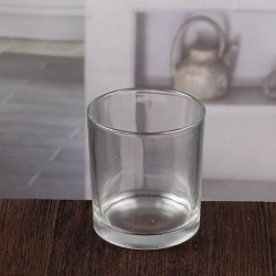 China Clear glass candle holders rustic candle holders wholesale factory