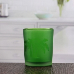China Factory direct wholesale small green candle holders modern candle sconces factory