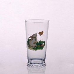 Handmade painted 24 ounce drinking glasses cheap drinking glasses for sale