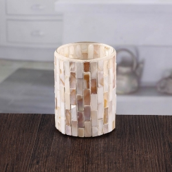 High quality mosaic glass candle holder wholesale
