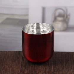 High quality pedestal candle holder cheap copper candle holder wholesale