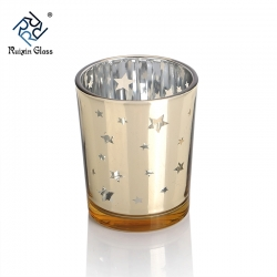 Mercury Glass Votive Tealight Candle Holder For Home Decor Wedding Party Celebration