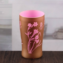 New design wall decor candle holder pink glass candle holders wholesale
