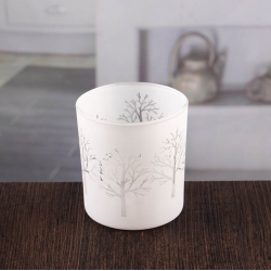 Round votive candle holders white candle holders sale