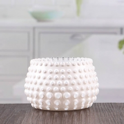 Unique white votive little glass candle holders 3 inch candle holder manufacturer