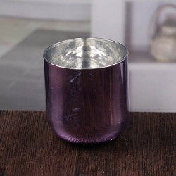 Violet centerpiece candle holders stemmed glass candle holders wholesale