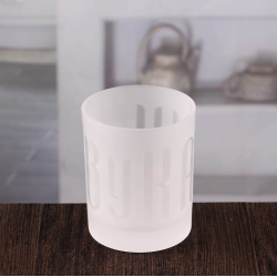 China White candlesticks holders cheap frosted candle holder wholesale factory