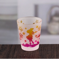 China Wholesale candle holders glass candlestick small glass candle holder factory