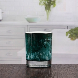 China Wholesale cyan low candle holders votive cups for candles factory