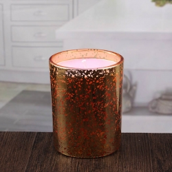 Wholesale hurricane candle holders gold votive holders bulk round glass candlestick