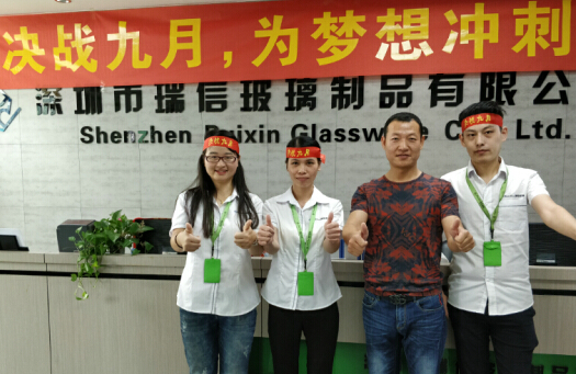 Ruixin company Sales Team, China Sales Team