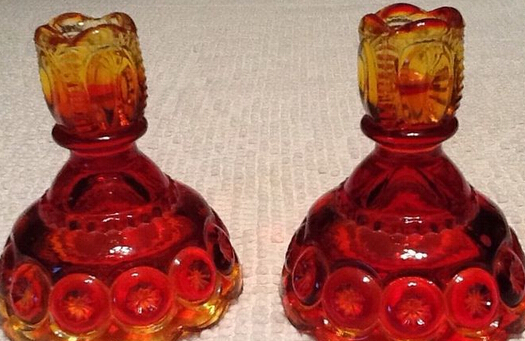 Glacier Glass Reversible Dual Size Candle Holder Supplier and Manufacturer