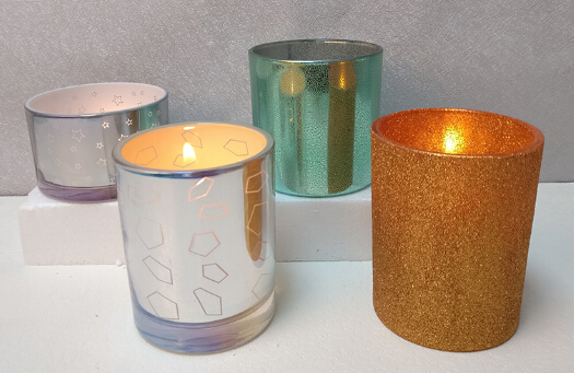 Hot Wholesale Candlestick holder, Mercury glass candle Supplier in China