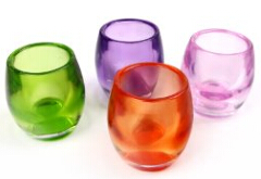 Wholesale Different Style Case Glass Candle Containers