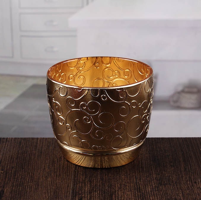 embossed gold candlesticks bulk cheap gold votive candle holders supplier china candle holder. Black Bedroom Furniture Sets. Home Design Ideas